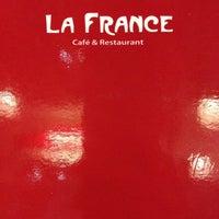 Photo taken at La France by Cindy O. on 4/9/2014