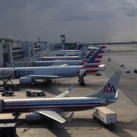 Photo taken at Miami International Airport (MIA) by Alan A. on 10/23/2013