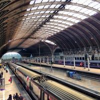 Photo taken at London Paddington Railway Station (PAD) by Alan A. on 7/12/2013