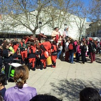 Photo taken at Centre Cívic Alcalde Morera by Jordi M. on 3/23/2014