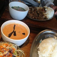 Photo taken at Lukla Village by Himalaya Curry by Marinin on 4/22/2014
