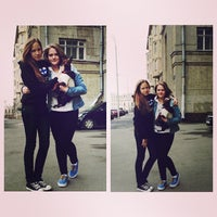 Photo taken at Гастелло 9 by Nastya B. on 4/27/2013