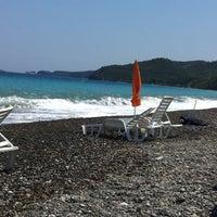 Photo taken at Psaropouli beach by Lambros on 7/7/2013