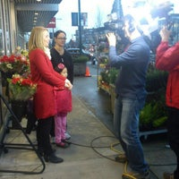Photo taken at Cambie Flowers by Simon K. on 2/15/2013