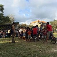 Photo taken at Lapangan Astina by Dewa pangto on 8/1/2015