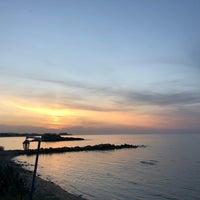 Photo taken at Paradissia Beach House by Damla O. on 4/16/2018