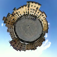 Photo taken at Piazza dell'Anfiteatro by Lauren P. on 7/25/2013