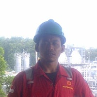 Photo taken at Conocophillips Indonesia, Ltd. - Suban Gas Plant by Heri K. on 7/30/2014