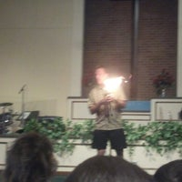 Photo taken at Warren Woods Baptist Church by Henry B. on 3/21/2013