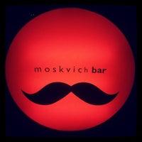 Снимок сделан в Moskvich bar пользователем Mary V. 5/2/2013