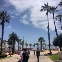 Photo taken at Santa Monica Beach Parking 1N by YO C. on 5/20/2014