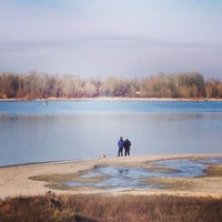 Photo taken at Багаевский паром by Anna on 1/15/2014