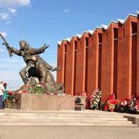 Photo taken at Ленино-Снегиревский военно-исторический музей by Alexander on 5/9/2013
