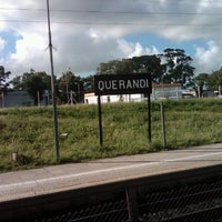Photo taken at Estación Querandí [Línea Belgrano Sur] by Fabricio A. on 11/14/2012