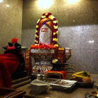 Photo taken at Fremont Hindu Temple by Madhu on 4/7/2015