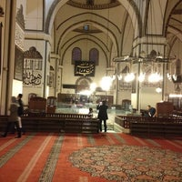Photo taken at Ulu Cami by Fatih on 2/24/2013
