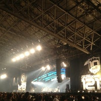 Photo taken at Makuhari Messe by 田名網 on 12/30/2012