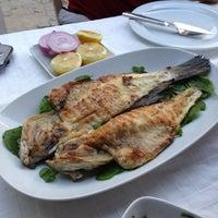 Photo taken at Karina Balık Restaurant by Baris A. on 5/19/2013