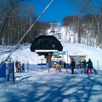 Photo taken at Devil's Head Ski Resort by Samuel T. on 12/25/2012