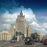 Photo taken at Смоленская-Сенная площадь by Irina on 7/8/2013