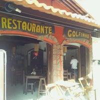 Photo taken at Restaurante Golfinhos by Daniel Carlos on 2/1/2013