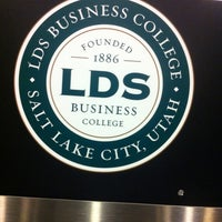 Photo taken at LDS Business College by Ramon on 12/17/2012