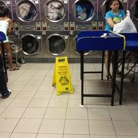 Photo taken at Mei Tai Laundromat by Miya on 6/24/2013