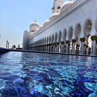 Photo taken at Sheikh Zayed Grand Mosque by Faisal A. on 5/11/2013