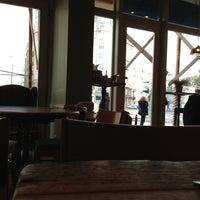 Photo taken at Green Caffè Nero by Marcin K. on 10/28/2012