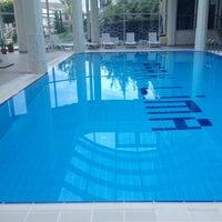 Photo taken at Park Lima Swimming Pool by SELDA on 9/28/2014