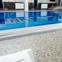Photo taken at Park Lima Swimming Pool by SELDA on 5/18/2015