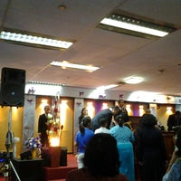 Photo taken at Gereja Tiberias Cawang Kencana by Grace G. on 5/26/2013
