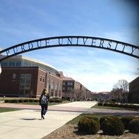 Photo taken at Purdue University by Alaina K. on 4/4/2013