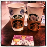 Photo taken at Starbucks by Elif S. on 2/8/2013