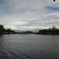 Photo taken at Situ Sawangan by febriyani m. on 4/12/2013