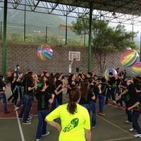 Photo taken at Colegio San Patricio (Campus Cumbres) by Jessica on 6/13/2013