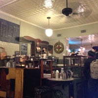 Photo taken at Second Stop Cafe by Matthew on 11/4/2012