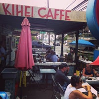 Photo taken at Kihei Caffe by Meredith S. on 2/27/2015