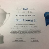 Photo taken at EMC Corporation by Paul on 5/1/2014