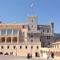 Photo taken at Palais Princier de Monaco by Y on 6/6/2013