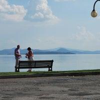 Photo taken at Lago Trasimeno by Natalia Z. on 9/8/2013