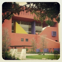 Photo taken at San Antonio Central Library by Bradley E. on 10/20/2012