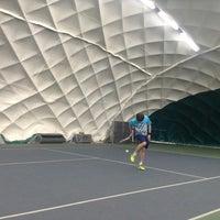 Das Foto wurde bei Теннисный корт Кадет von Alexander G. am 4/11/2014 aufgenommen