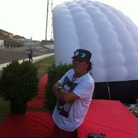 Photo taken at Stadio Velodromo Rino Mercante by Franca on 7/19/2013