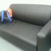 Photo taken at Rudnev's sofa at RIA Novosti Office @ Kazan Arena by Alexander R. on 7/4/2013