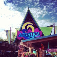 Photo taken at Aquatica, SeaWorld's Waterpark Orlando by Luis on 11/27/2012