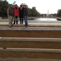 Photo taken at Hermann Fountain by Antonio on 12/30/2012
