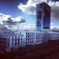 Photo taken at Avenue Habib Bourguiba by Nadhir M. on 2/4/2013