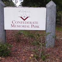 Photo taken at Confederate Memorial Park by Marty M. on 6/28/2014
