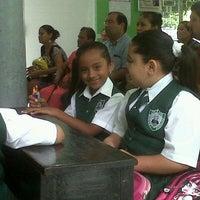 Photo taken at Colegio Miguel Hidalgo by Mayra C. on 6/28/2013